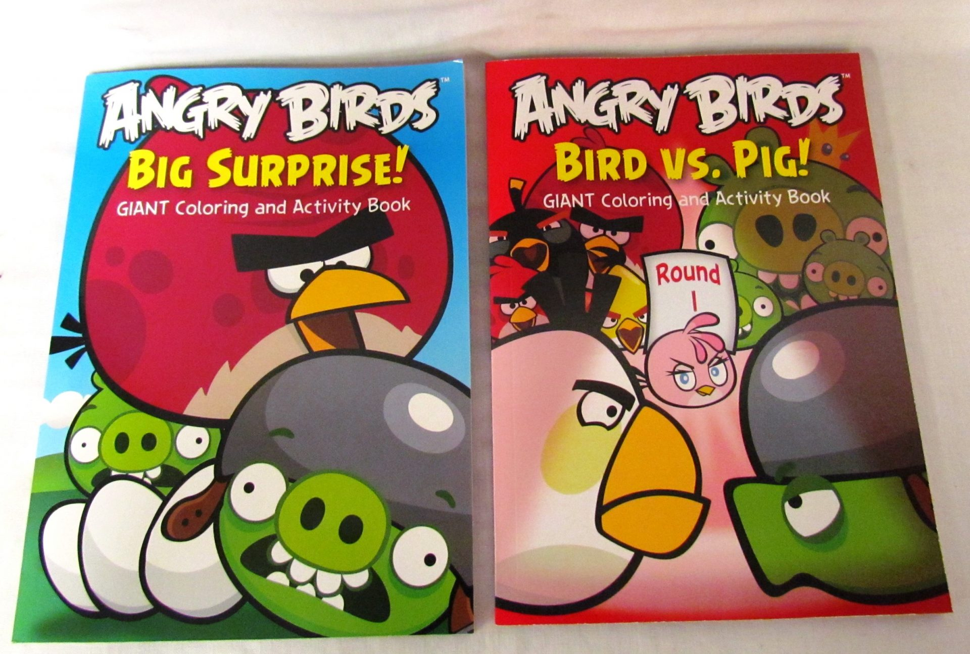 - Point Guard Marketing Angry Birds Coloring Books